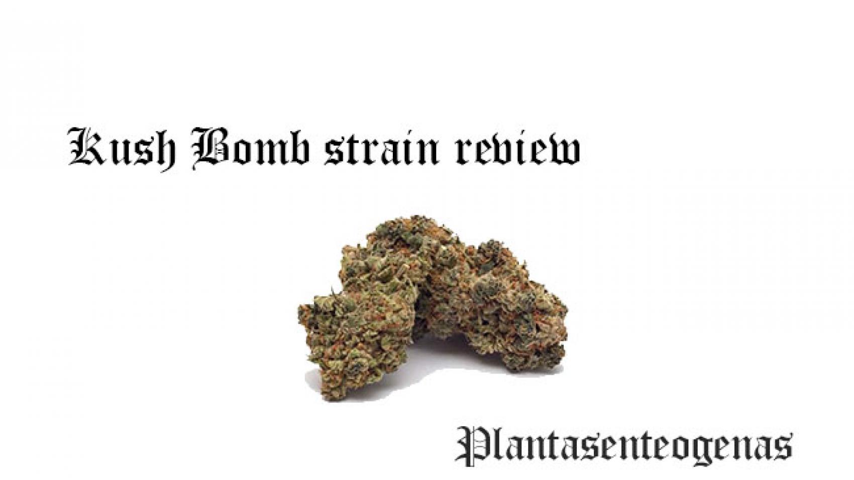 kush bomb strain review